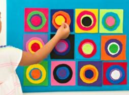 Kreatív és szórakoztató vizuális ötletek óvodás gyerekeknek  – 10.rész: Pontok, pöttyök és körök