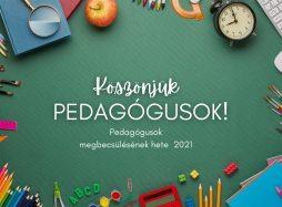 Pedagógusok elismerésének hete
